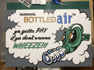 Walmazon's Bottled Air