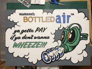 Walmazon's Bottled Air